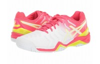 Sales - ASICS Gel-Resolution 7 White/Laser Pink