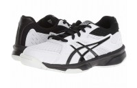 Sales - ASICS Kids Upcourt 3 Volleyball (Little Kid/Big Kid) White/Black