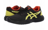 SALE ASICS Kids Gel-Game 7 GS Tennis (Little Kid/Big Kid) Black/Sour Yuzu