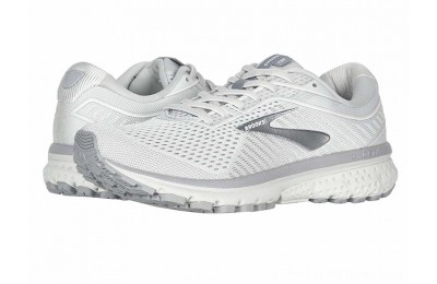 SALE Brooks Ghost 12 Oyster/Alloy/White