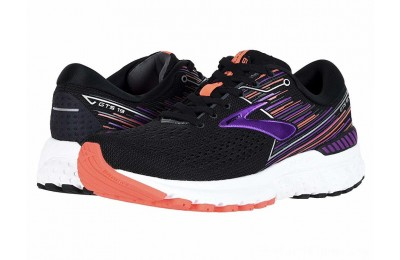 Sales - Brooks Adrenaline GTS 19 Black/Purple/Coral