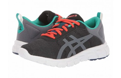 SALE ASICS Kids Gel-Quantum Lyte (Toddler/Little Kid/Big Kid) Black/Metropolis