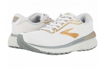 Sales - Brooks Adrenaline GTS 20 White/Grey/Gold