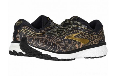 Sales - Brooks Ghost 12 Black/Gold/White