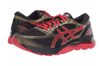 Sales - ASICS GEL-Nimbus® 21 Black/Classic Red 2