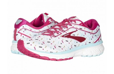 SALE Brooks Zappos 20th x Ghost 12 White/Beetroot/Turquoise