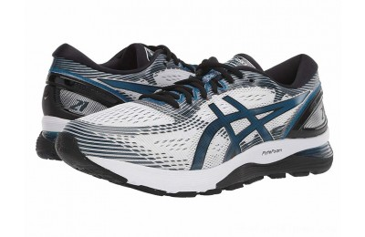 BLACK FRIDAY SALE ASICS GEL-Nimbus® 21 White/Deep Sapphire