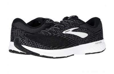 BLACK FRIDAY SALE Brooks Revel 3 Black/Blackened Pearl/White