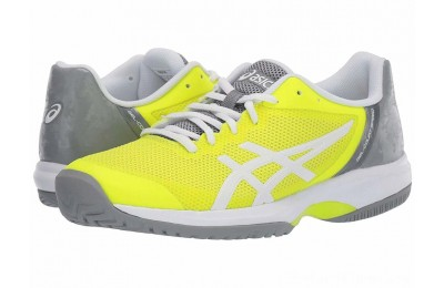 BLACK FRIDAY SALE ASICS Gel-Court Speed Safety Yellow/White