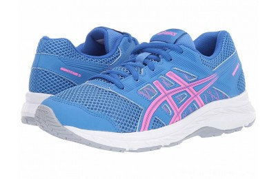 SALE ASICS Kids Gel-Contend 5 GS (Big Kid) Blue Coast/Hot