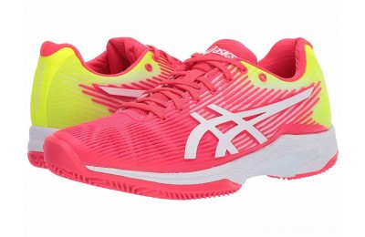 SALE ASICS Solution Speed FF Laser Pink/White