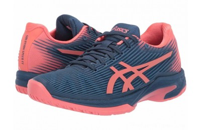 SALE ASICS Solution Speed FF Grand Shark/Papaya