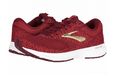 BLACK FRIDAY SALE Brooks Revel 3 Rumba Red/Teaberry/Gold