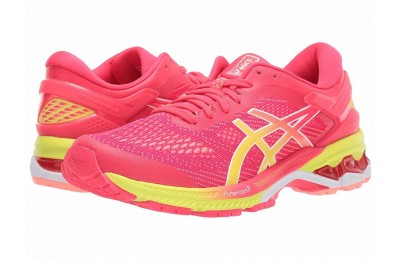 Sales - ASICS GEL-Kayano® 26 Pink/Sour Yuzu