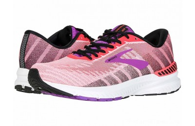Sales - Brooks Ravenna 10 Coral/Purple/Black