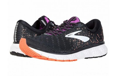 Sales - Brooks Glycerin 17 Black/Fiery Coral/Purple