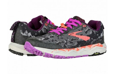 SALE Brooks Caldera 3 Black/Purple/Coral