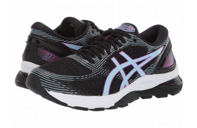 SALE ASICS GEL-Nimbus® 21 Black/Skylight