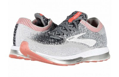 SALE Brooks Bedlam Grey/Coral/White