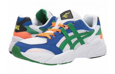 SALE ASICS Tiger Gel-Bnd White/Green