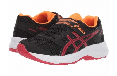BLACK FRIDAY SALE ASICS Kids Gel-Contend 5 (Toddler/Little Kid) Black/Speed Red