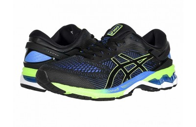 SALE ASICS GEL-Kayano® 26 Black/Electric Blue