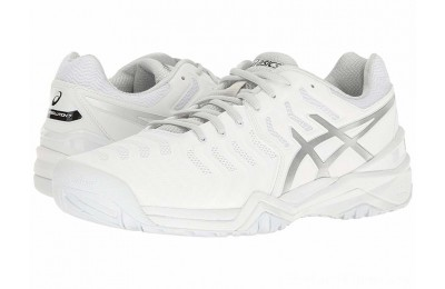 SALE ASICS Gel-Resolution 7 White/Silver