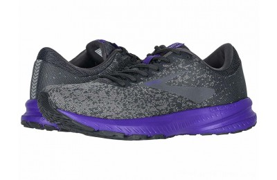 BLACK FRIDAY SALE Brooks Launch 6 Ebony/Shark/Violet