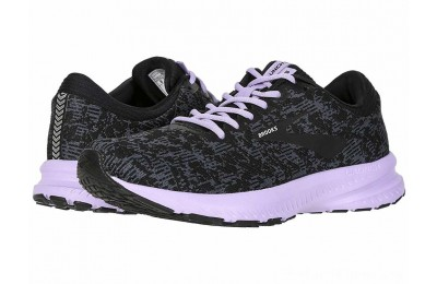 SALE Brooks Launch 6 Ebony/Black/Purple Rose