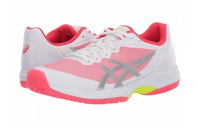 SALE ASICS Gel-Court Speed White/Laser Pink