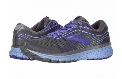 SALE Brooks Ghost 12 Shark/Violet/Bel Air Blue