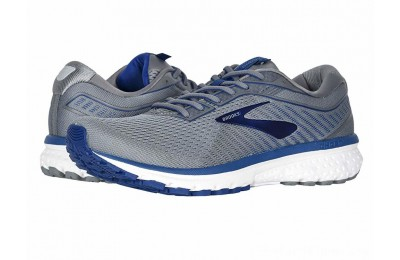 SALE Brooks Ghost 12 Grey/Alloy/Blue