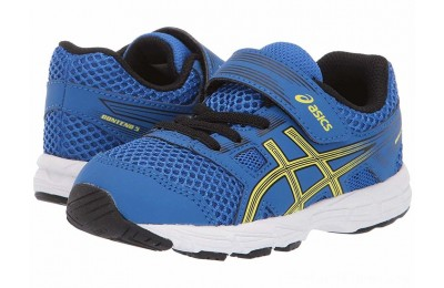SALE ASICS Kids Gel-Contend TS (Toddler) Illusion Blue/Lemon