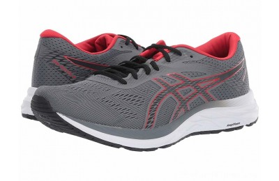 SALE ASICS GEL-Excite® 6 Steel Grey/Classic Red