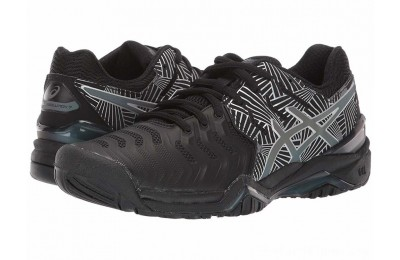 BLACK FRIDAY SALE ASICS Gel-Resolution 7 Black/Silver