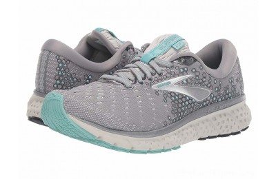 SALE Brooks Glycerin 17 Grey/Aqua/Ebony