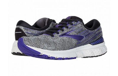 Sales - Brooks Adrenaline GTS 19 Black/Purple/Grey