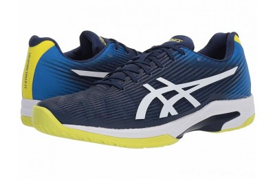 SALE ASICS Solution Speed FF Blue Expanse/White