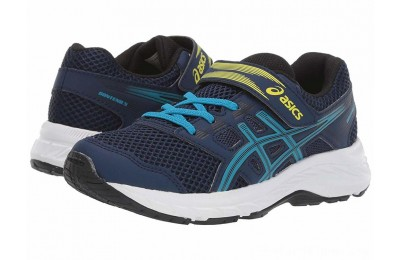 SALE ASICS Kids Gel-Contend 5 (Toddler/Little Kid) Blue Expanse/Island