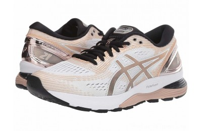 SALE ASICS GEL-Nimbus® 21 White/Frost Almond