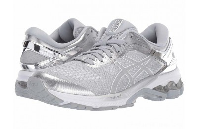 SALE ASICS GEL-Kayano® 26 Piedmont Grey/Silver 1