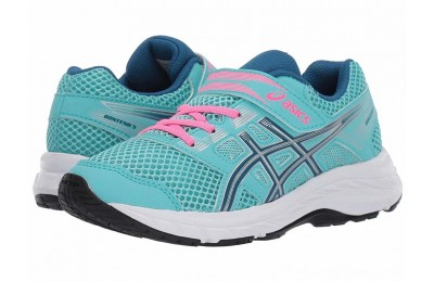 BLACK FRIDAY SALE ASICS Kids Gel-Contend 5 (Toddler/Little Kid) Ice Mint/Deep Sapphire