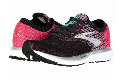 SALE Brooks Ricochet Pink/Black/Aqua