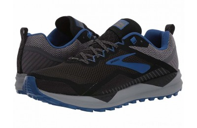 BLACK FRIDAY SALE Brooks Cascadia 14 GTX Black/Grey/Blue