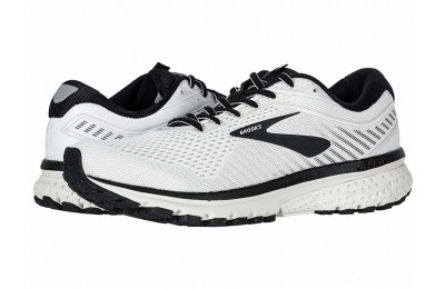 Sales - Brooks Ghost 12 White/Grey/Black