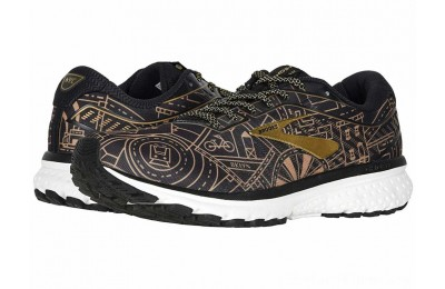 SALE Brooks Ghost 12 Black/Gold/White