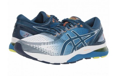 SALE ASICS GEL-Nimbus® 21 White/Lake Drive