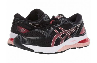 BLACK FRIDAY SALE ASICS GEL-Nimbus® 21 Black/Laser Pink