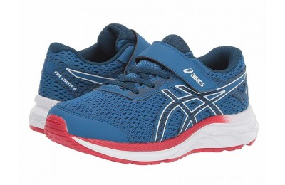 BLACK FRIDAY SALE ASICS Kids Gel-Excite 6 (Toddler/Little Kid) Lake Drive/Midnight