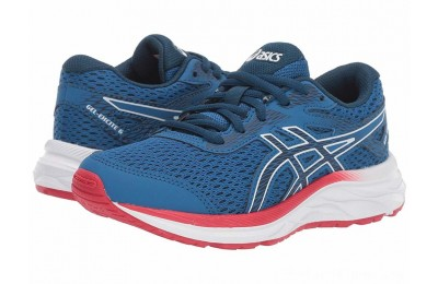 SALE ASICS Kids Gel-Excite 6 (Little Kid/Big Kid) Lake Drive/Midnight